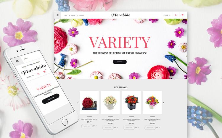 Flora Bido - Incredible VirtueMart Theme