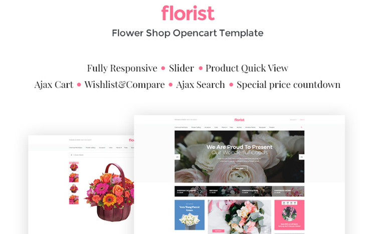 Flora - Remarkable OpenCart Theme
