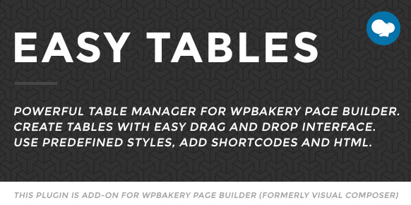 Easy Tables WordPress Plugin