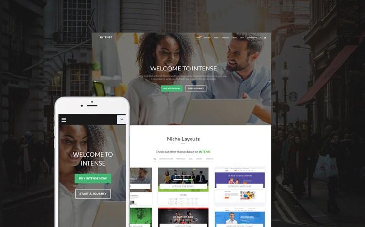 Intense - Responsive Multipurpose Website Template