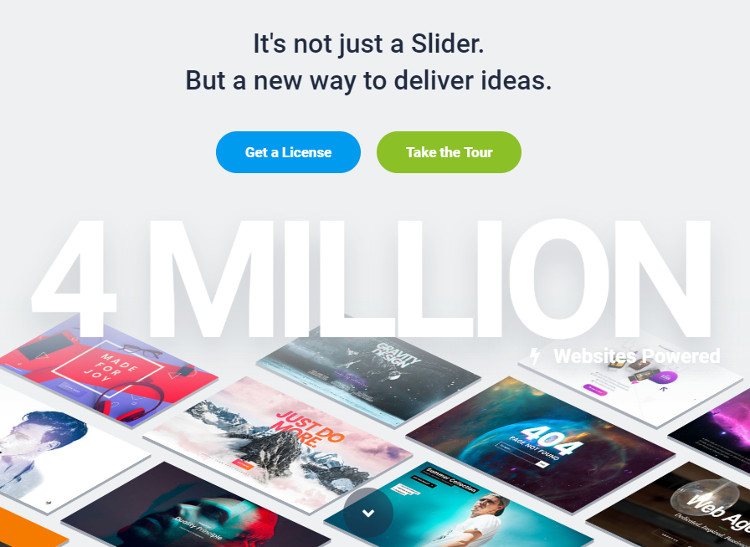 Slider Revolution WordPress Plugin
