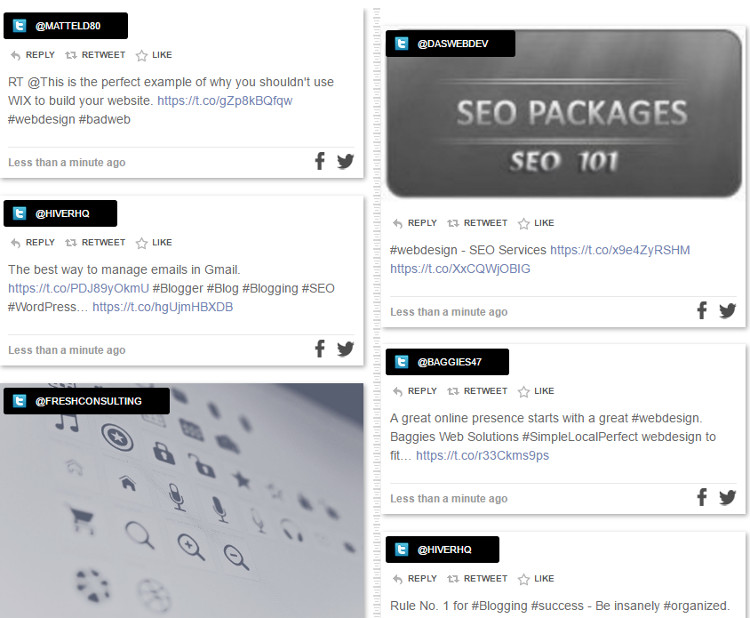 Social Timeline WordPress Plugin
