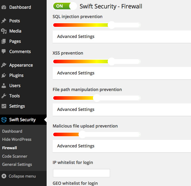 Swift Security WordPress Plugin