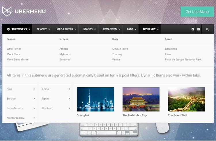 UberMenu WordPress Plugin