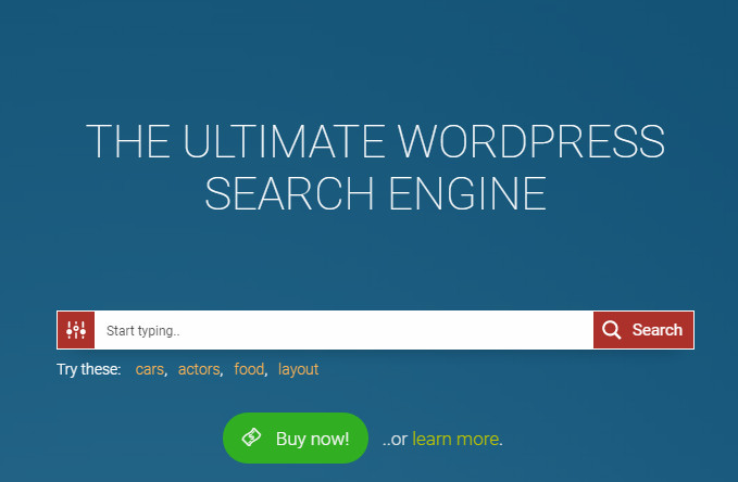 Ajax Search WordPress Plugin