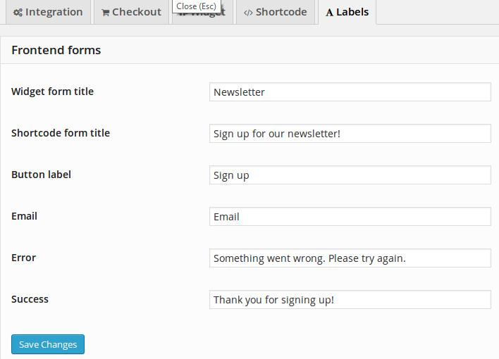 WooChimp WordPress Plugin