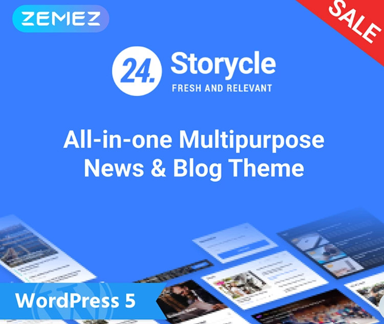 24.Storycle WordPress Theme