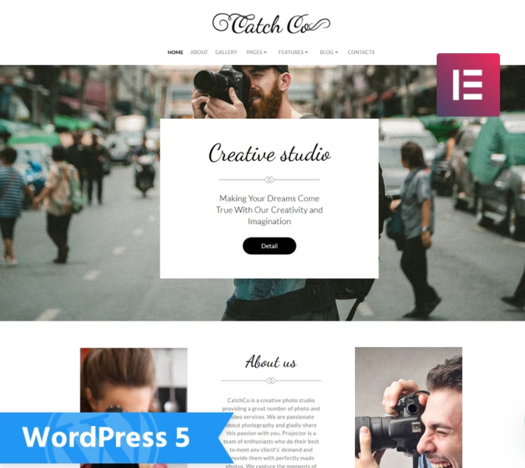 Catch Co WordPress Theme