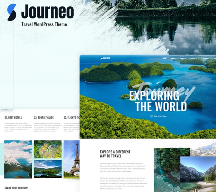 Journeo WordPress Theme