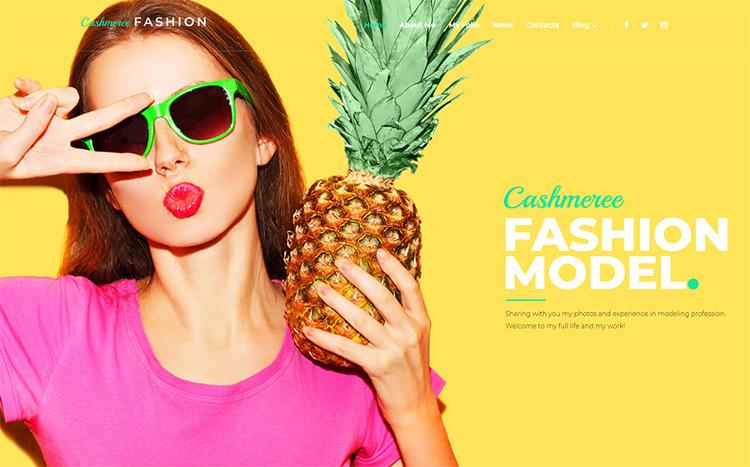 Cashmeree Fashion WordPress Theme