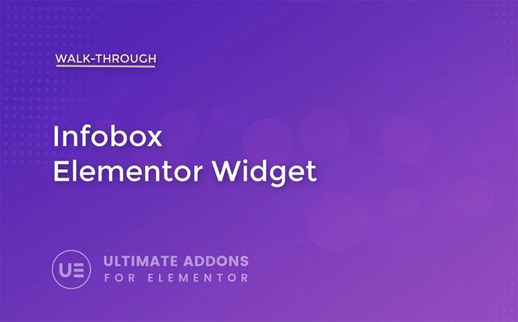 Info Box - Elementor Widget