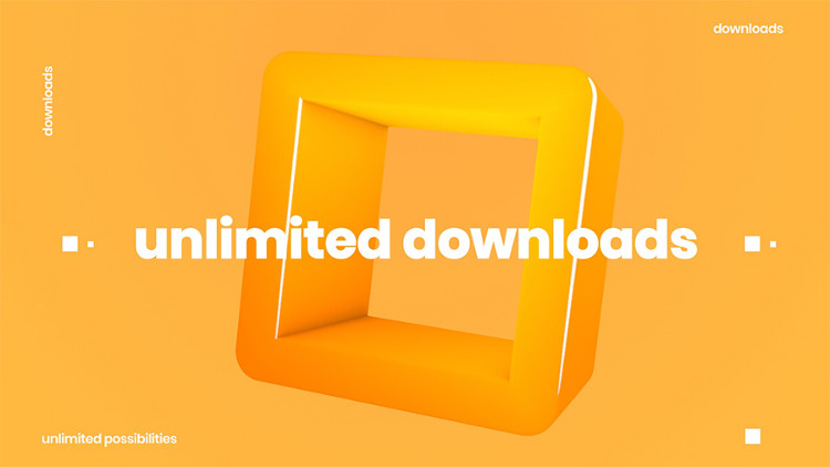 Unlimited downloads in Template Monster ONE Subscription