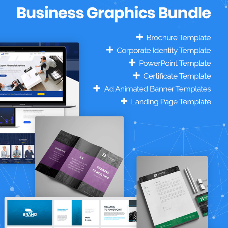 Xmas 2019 Business Graphics Bundle