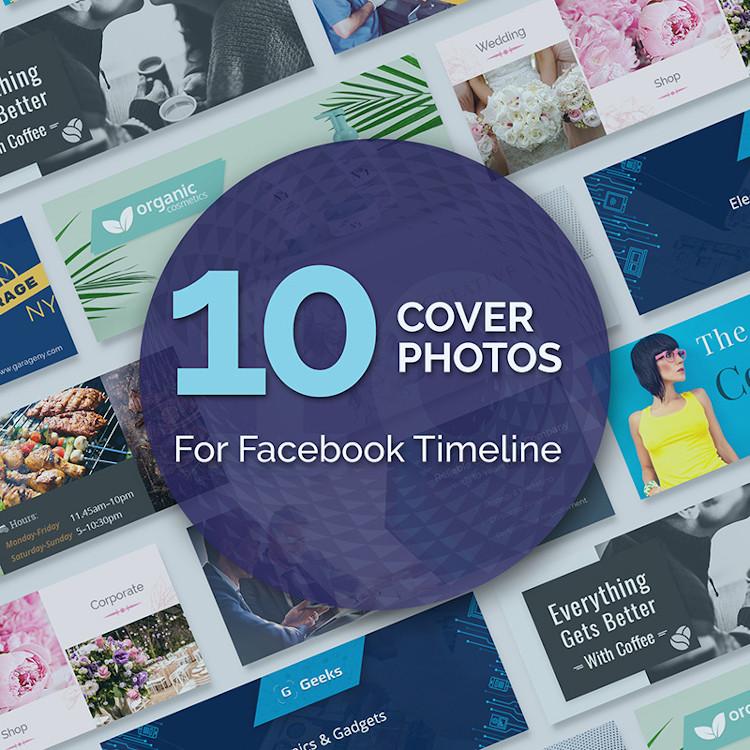 10 Cover Photos For Facebook Timeline Bundle