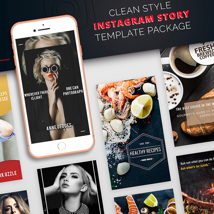 Clean Style Instagram Story Package
