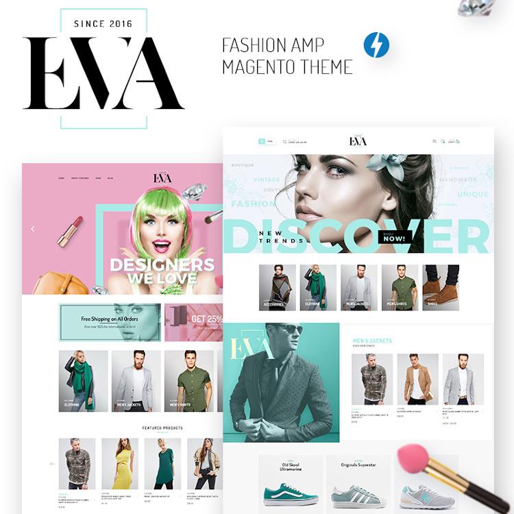 EVA - Fashion Magento Theme