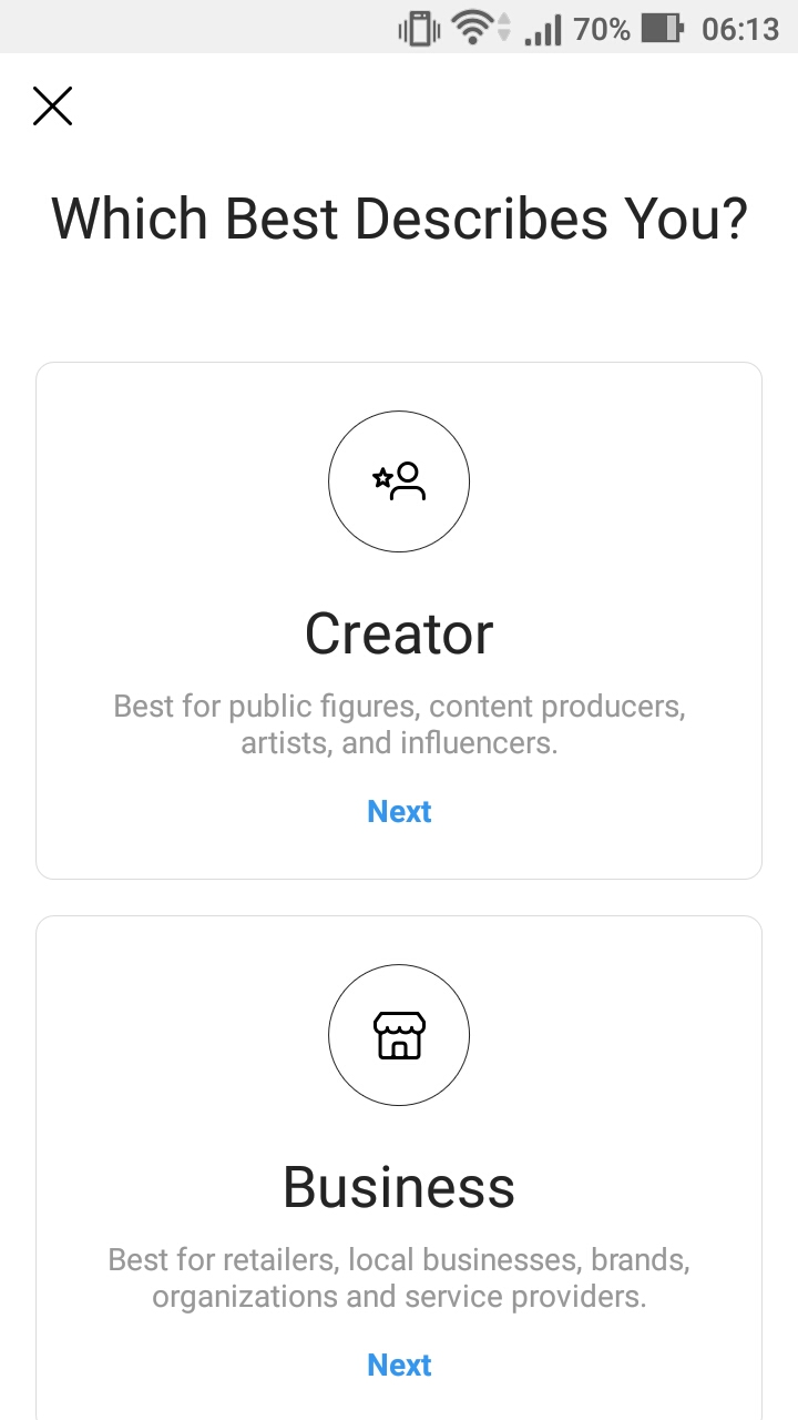How to Convert to Instagram Creator and Business Account
