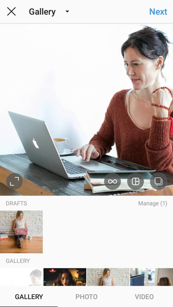 How to save a post as a draft in Instagram and reuse it