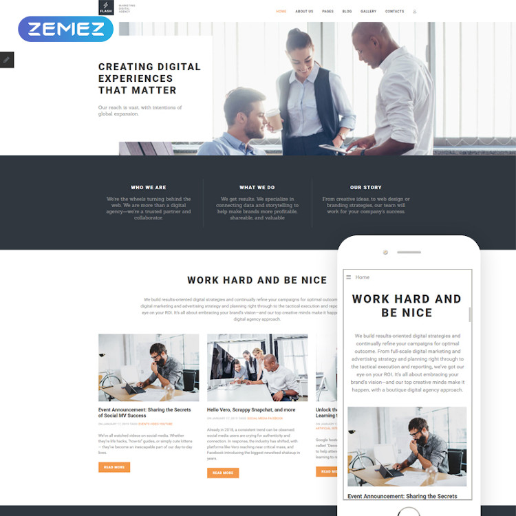 Flash - Digital Marketing Agency Joomla Theme
