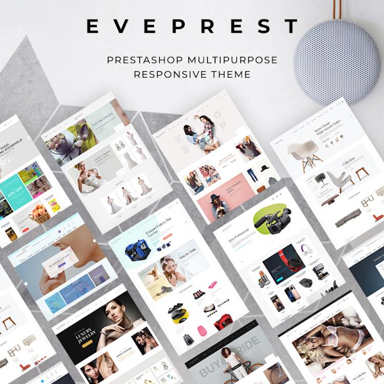 Eveprest - Multipurpose PrestaShop Theme