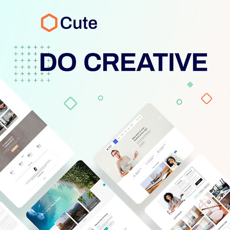 Cute HTML5 template
