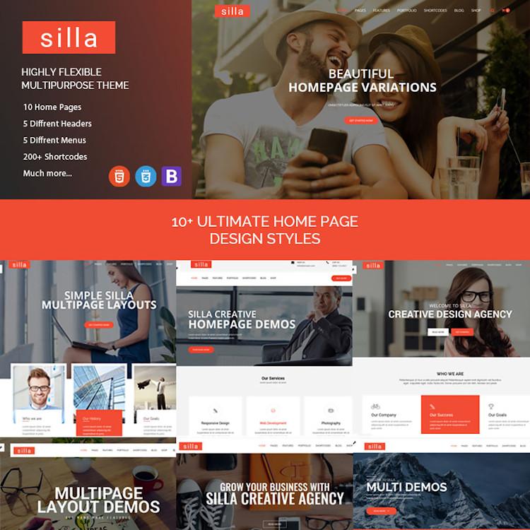 Silla HTML5 template