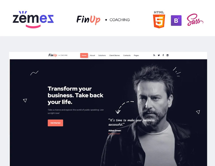 FinUp HTML5 Template