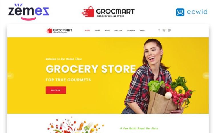 Grocmart HTML5 Template