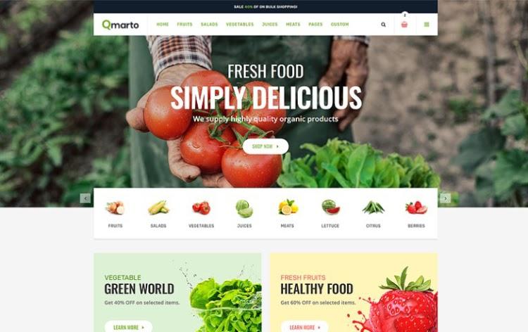 Qmarto HTML5 Template