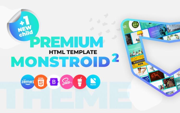 Monstroid2 Multipurpose Bootstrap HTML5 Template