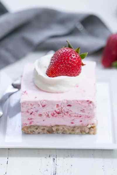 Strawberry Pie Dessert {That Skinny Chick Can Bake}
