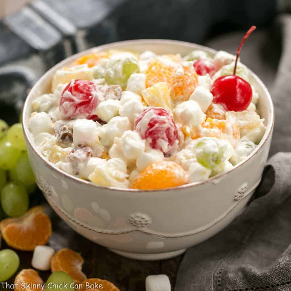 Ambrosia Fruit Salad Recipe