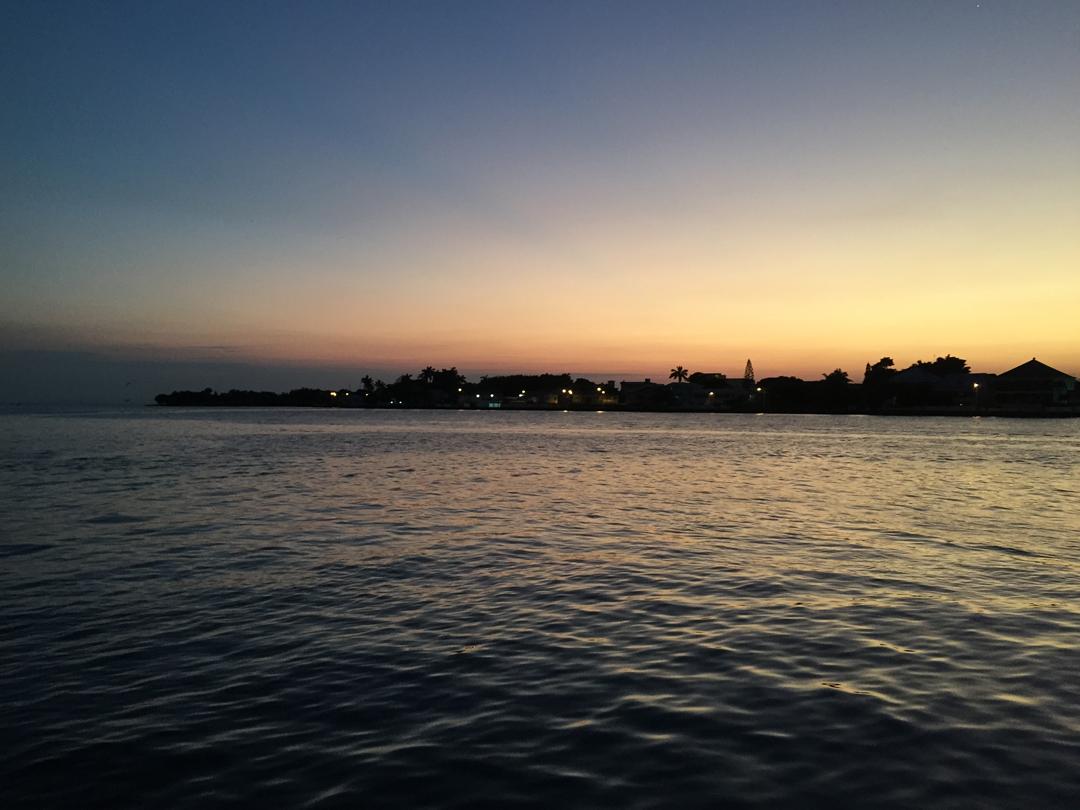 Belize_Sonnenuntergang