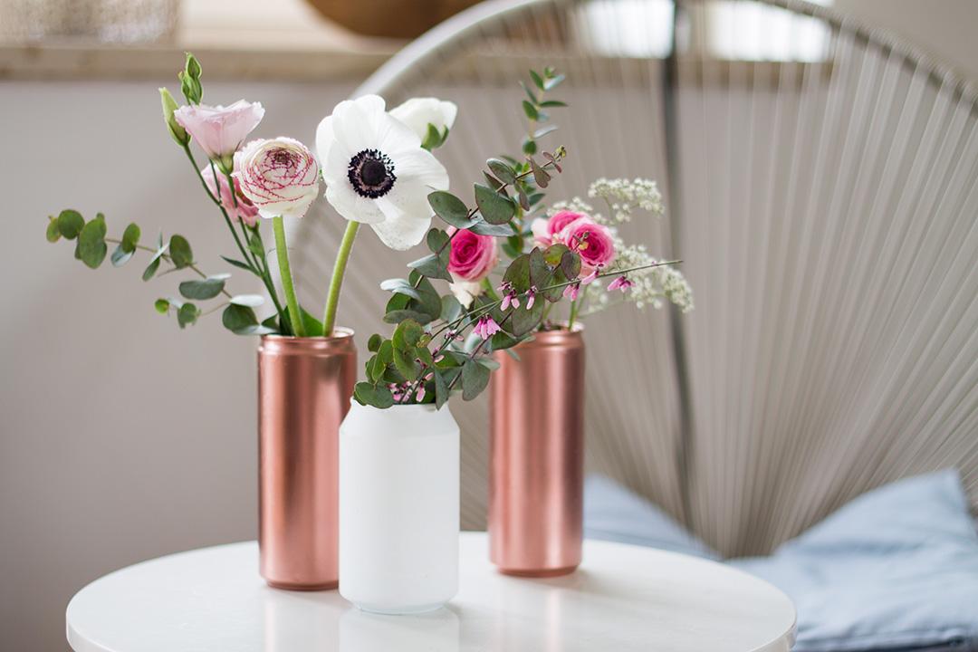 DIY Recycelte Blumenvase TLB