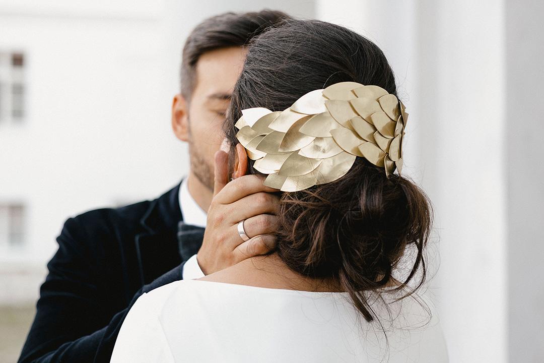 Heimliche Hochzeit in Berlin - mein Kopfschmuck