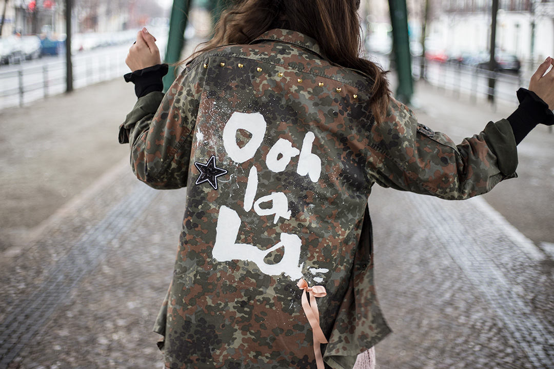 Military jacket Upcycling - Gestalte dir dein eigenes It-Piece