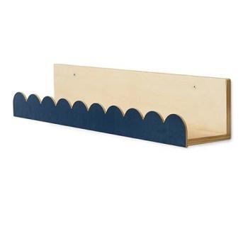 Alba bookshelf in dusty dark blue - Thats Mine