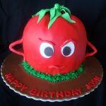 Angry Tomato Cake