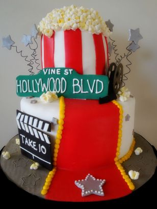 Hollywood-cake-utah