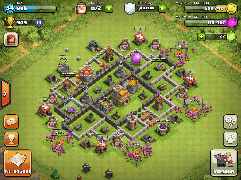 Town Hall 7 best War Base Design 3