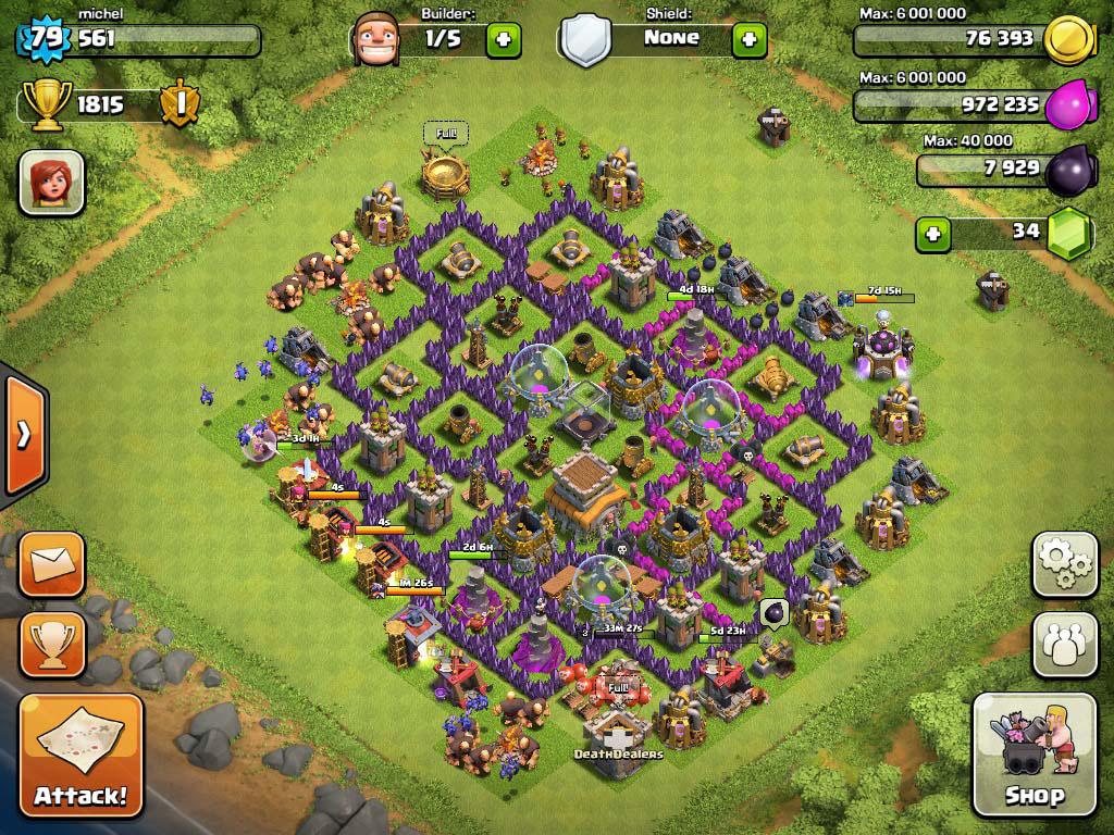 Best Defense Town Hall Level 9
