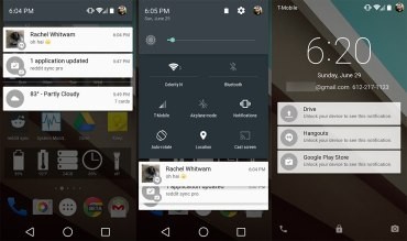 Notification - Top 10 Features of Android L