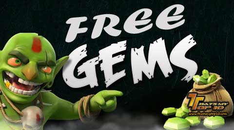 How To Get Free Gems For Clash Of Clans