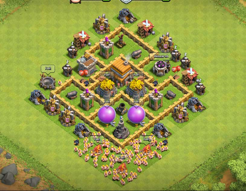 http://i1.wp.com/www.thatsmytop10.com/wp-content/uploads/2015/05/Clash-Of-Clans-Town-Hall-Level-5-Defense-TH5-War-Base-9-Thats-My-Top-10.jpg?resize=814%2C631 Clash