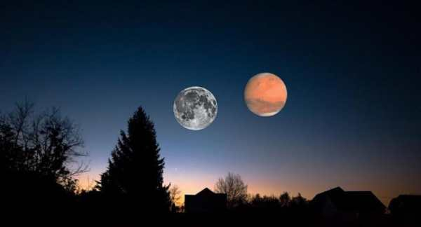 Will Mars be close to Earth as to appear like two moons in