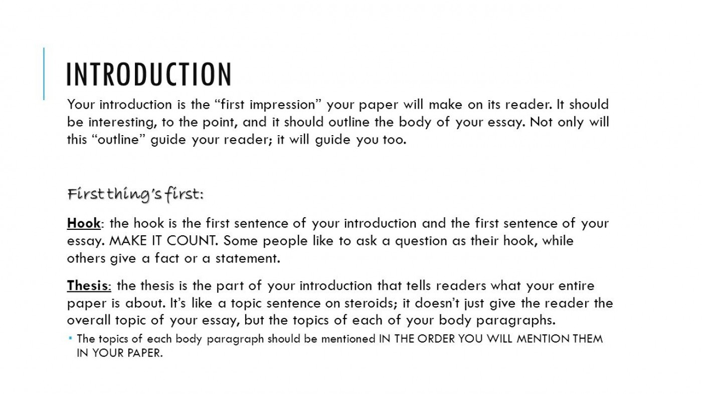 001 Essay Example Good Opening Sentences For Essays