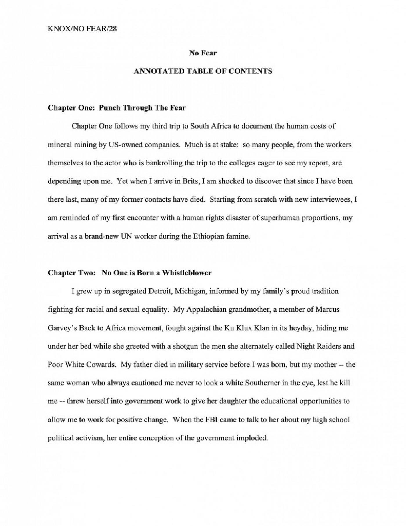 001 Memoir Essays Writing How To Write Annotated Table Of