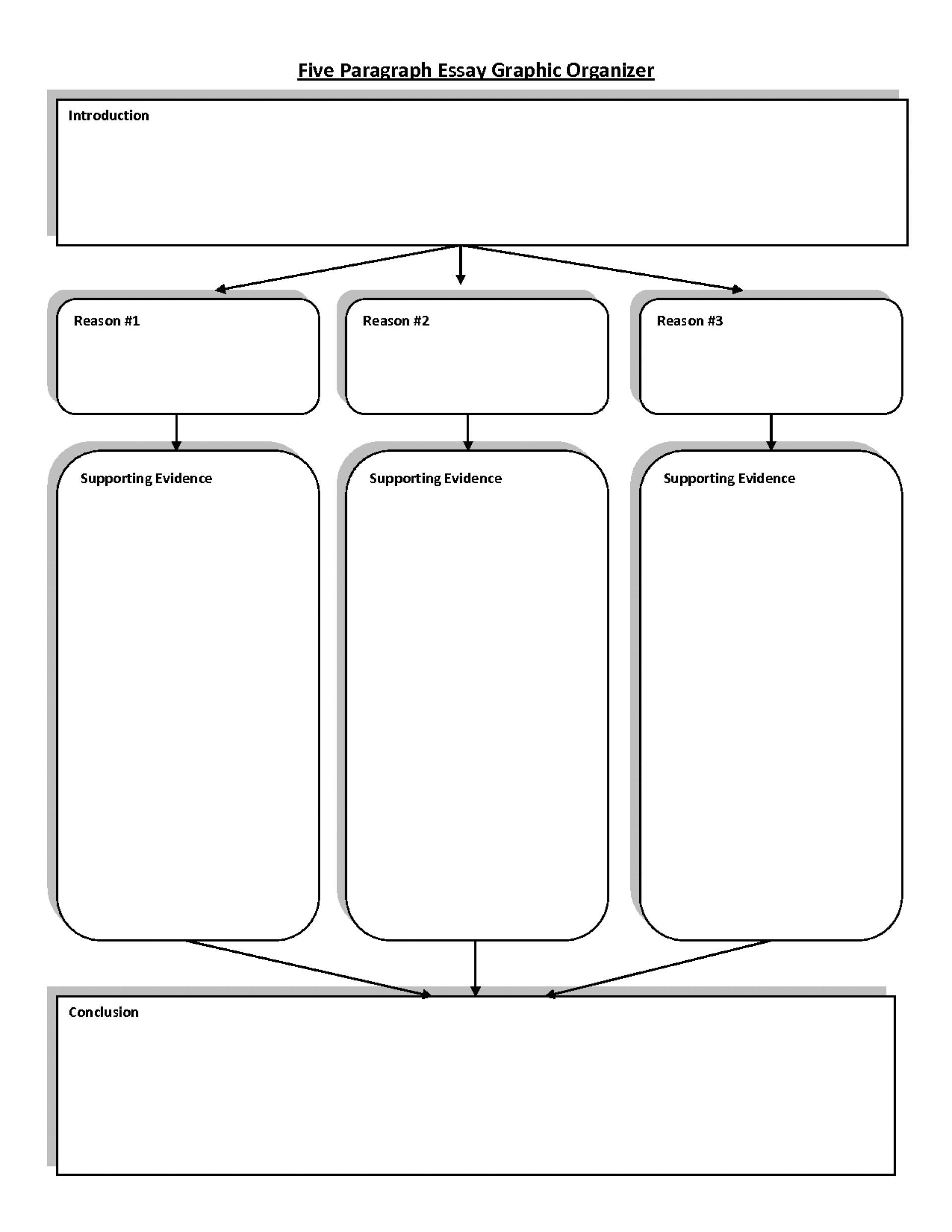 004 Essay Example Paragraph Graphic Organizer