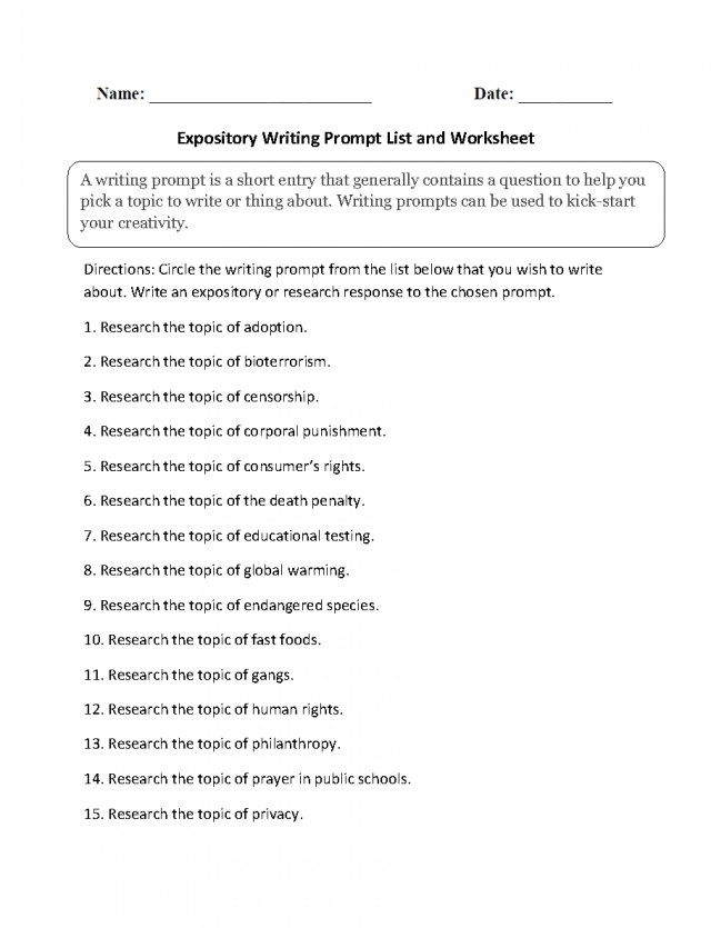 expository essay topics for high school students  applydocoumentco  expository essay topics writings and essays subjects to write an