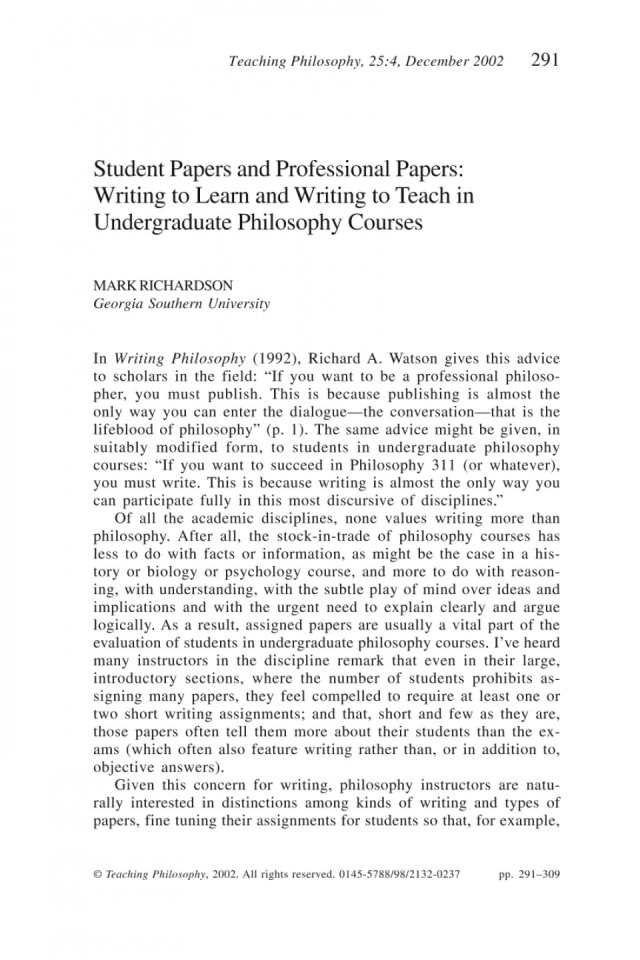 Write My Philosophy Essay! Write My Philosophy Paper Quickly and